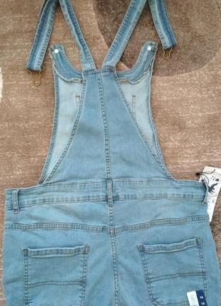 Крутезний джинсовий комбенизон track outfit7 фото