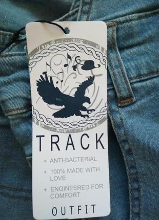 Крутезний джинсовий комбенизон track outfit9 фото