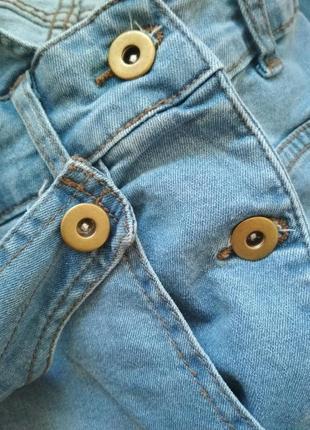 Крутезний джинсовий комбенизон track outfit10 фото