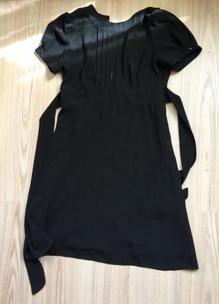 Чёрное платье topshop