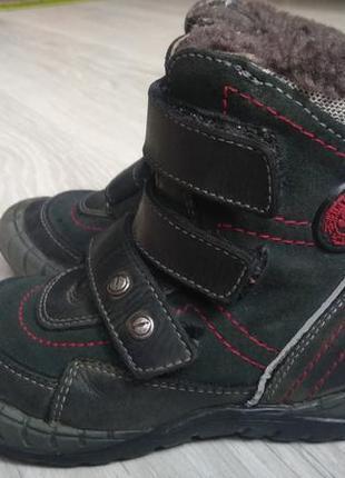 Зимние ботинки bartek для мальчика