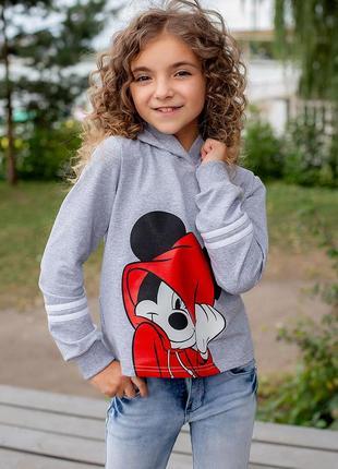 "Детский худи с принтом ""mickey mouse"" 122-140р"