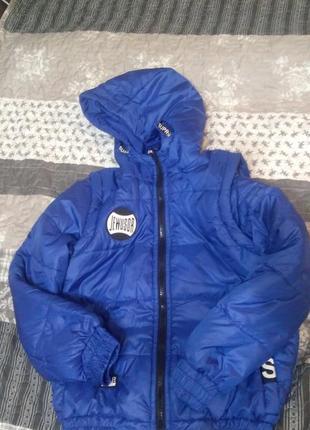 Осенняя куртка-трансформер на подростка