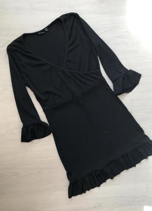Натуральное платье от boohoo, размер 16
