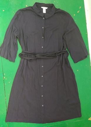 Трендовое платье рубашка от h&m