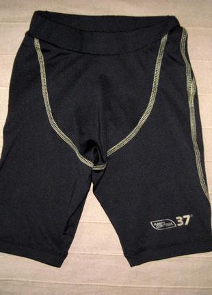 Umbro (134 см) эластичные шорты тайтсы детские