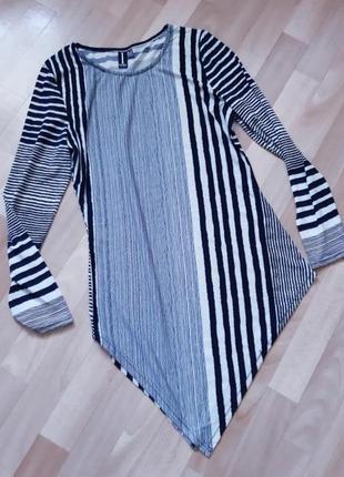 Фирменное платье с длинным рукавом