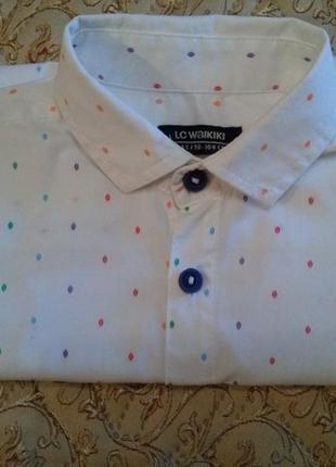 """Нарядная рубашка на мальчика """"lc waikiki"""" (р. 98-104)"""