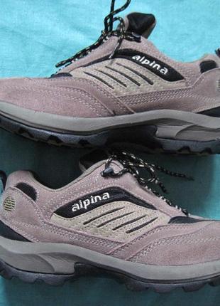 Alpina (36) треккинговые кроссовки женские