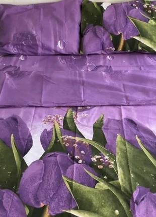 Постельное белье тюльпаны 🌷 очень красиво как живые 💗