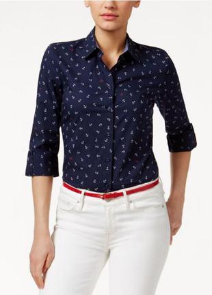 Рубашка tommy hilfiger оригинал размер m
