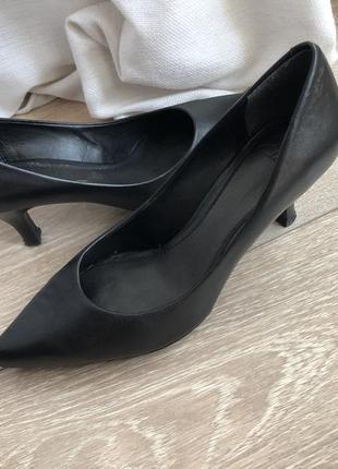 Кожаные комфортные туфли marks&spencer p.5 37/38