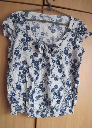 Классная блуза из вискозы 16р!