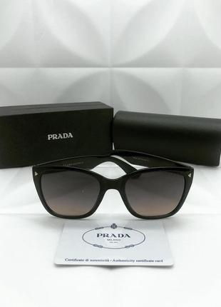 Женские солнцезащитные очки в стиле prada 🔥люкс качество