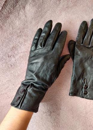 Перчатки под кожу, кожаные