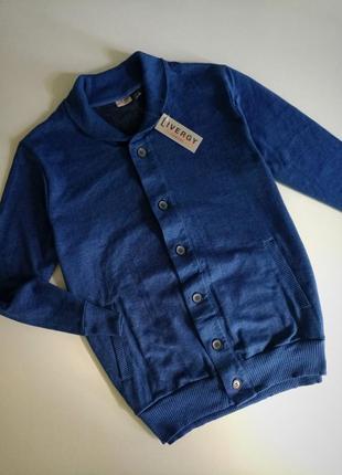 Стильний фирменний свитер кардиган от немецкого бренда livergy, л