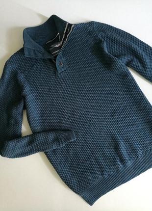 Livergy® мужской свитер, мягкий, с хлопком, из плотного трикотажа