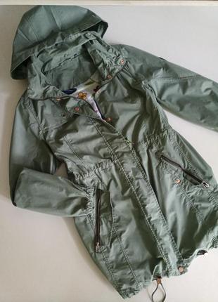 Фирменная куртка ветровка парка от немецкого бренда cecil, s-m