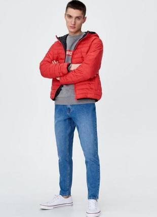Легкая стеганая куртка от бренда sinsay л размер