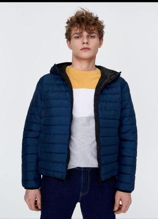 Легкая стеганая куртка от бренда sinsay м
