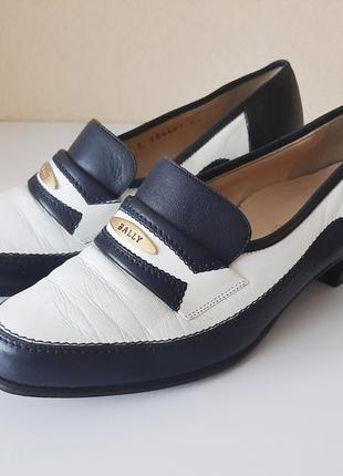 Невероятно удобные, полностью кожаные, брендовые туфли/лоферы bally