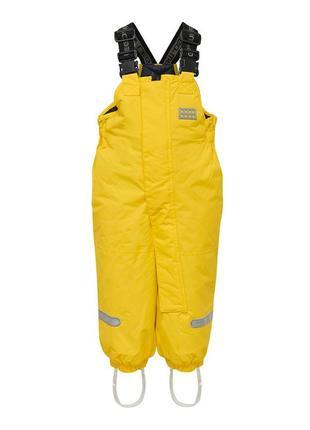 Зимний детский полукомбинезон для девочки 98-104 lego wear tec cool