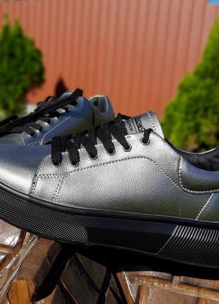 Крутые кеды кроссовки натуральная кожа4 фото