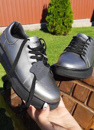 Крутые кеды кроссовки натуральная кожа5 фото