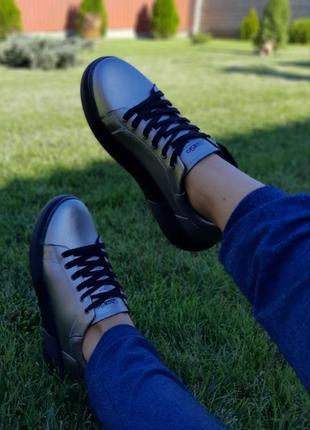 Крутые кеды кроссовки натуральная кожа7 фото