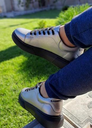 Крутые кеды кроссовки натуральная кожа8 фото