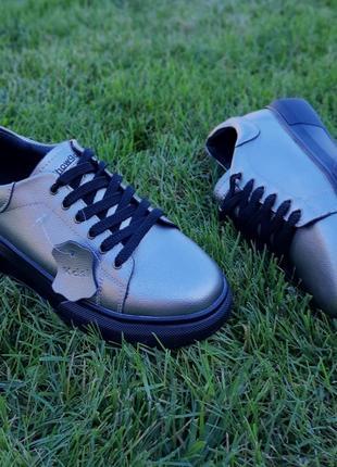 Крутые кеды кроссовки натуральная кожа9 фото