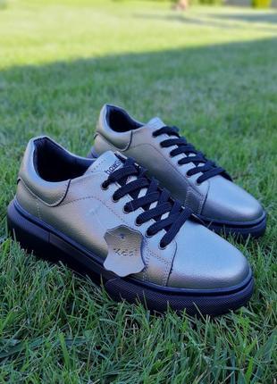Крутые кеды кроссовки натуральная кожа2 фото
