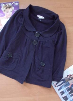 Трикотажный жакет пиджак