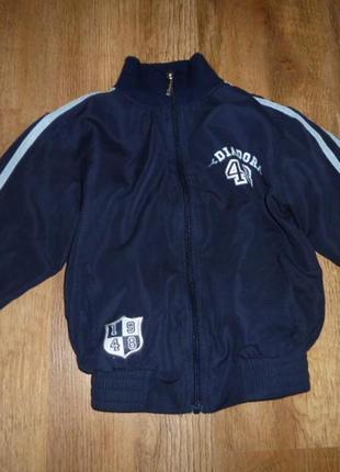 Спортивная куртка  на 5-6 лет