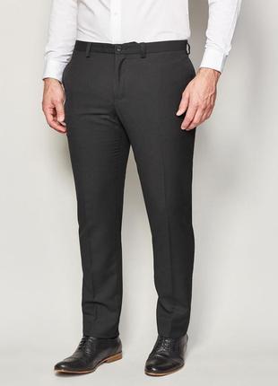 Мужские черные брюки f&f р. m - l