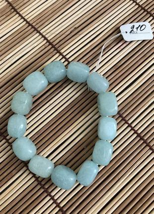 Аквамарин натуральный камень браслет