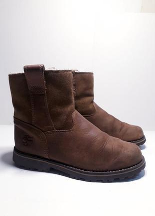 Женские кожаные ботинки р.34 (21,5 см.)