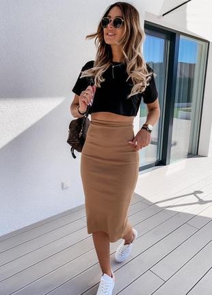 Костюм юбка + топ