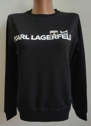 Кофта свитшот karl lagerfeld