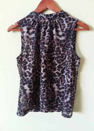 Шифоновая легкая блуза new look