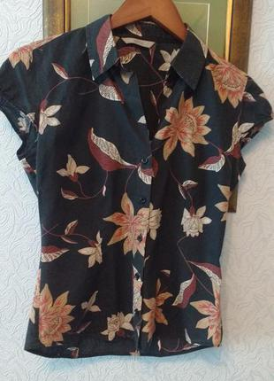 Блуза 100%  хлопок marks & spencer