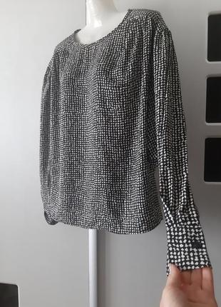 Блуза с объемными рукавами h&m