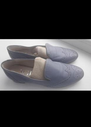 Итальянские кожаные туфли attilio giusti leombruni