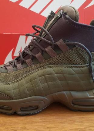 Ботинки, кроссовки оригинал nike air max 95 sneakerboot 806809-202