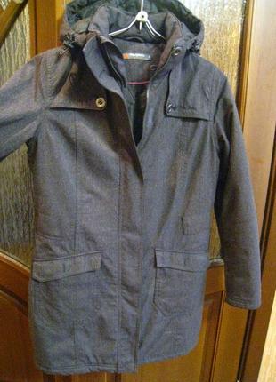 Женская удлиненная куртка парка на р.50