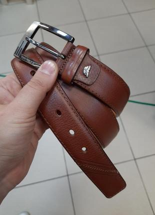 Итальянский кожаный ремень tony perotti