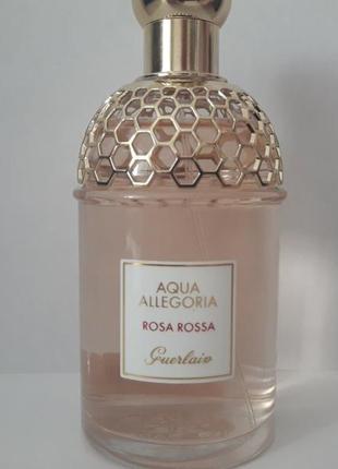 Guerlain aqua allegoria rosa rossa туалетная вода 125 ml тестер