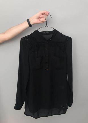 Красивая шифоновая блуза