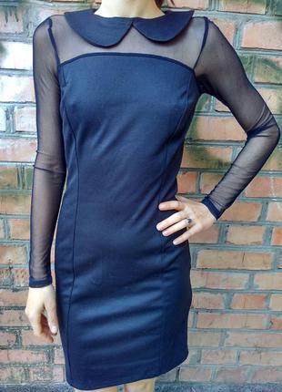 Элегантное сексуальное черное платье grandua