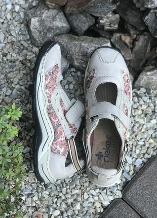 Удобные женские кроссовки мокасины rieker 41р.